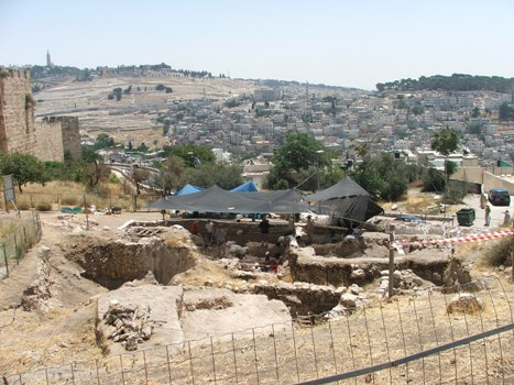 Click here for 2008 report ot Mount Zion Archaeological Project, Jerusalem, Israel